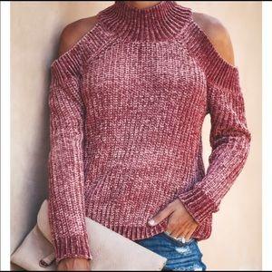 VICI Cold Shoulder Sweater